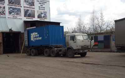 Перевозка контейнеров - Астрахань, цены, предложения специалистов