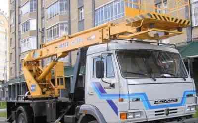 Услуги автовышки телескопической, - Ахтубинск