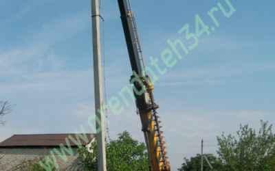 Монтаж опор и линий электропередач - Астрахань, цены, предложения специалистов