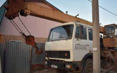 Автоокран 14тонн 14метров стрела - Астрахань