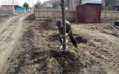 Бурение ям и отверстий в грунте - услуги бурояма и бензобура - Астрахань, цены, предложения специалистов