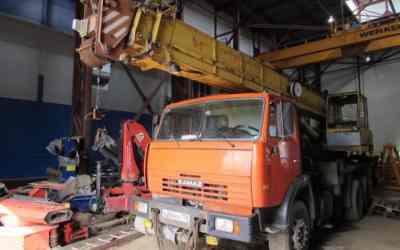 Ремонтируем автокраны и приборы безопасности оказываем услуги, компании по ремонту