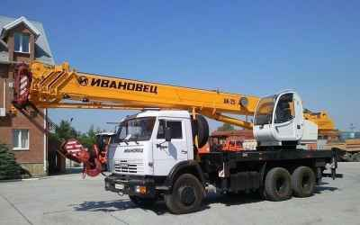 Услуги автокрана ивановец кс-45717К-1 25 тонн - Астрахань, цены, предложения специалистов