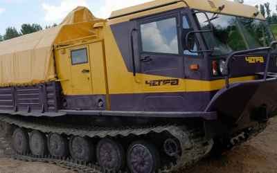 Вездеход ТМ-130 заказать или взять в аренду, цены, предложения компаний