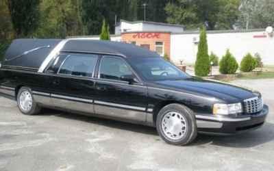 Катафалк Cadillac DeVille заказать или взять в аренду, цены, предложения компаний