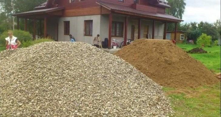 Песок щебень керамзит навоз грунт - Доставка - Астрахань, цены, предложения специалистов