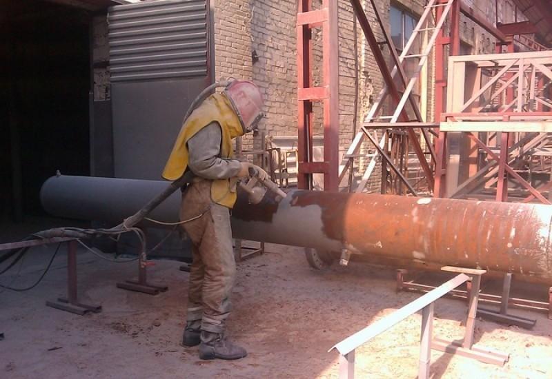Пескоструйная обработка металла - Астрахань