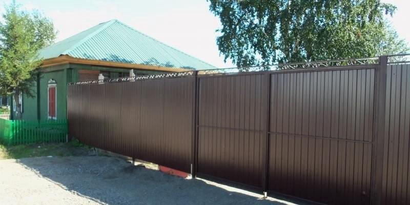 Забор из профнастила. Под ключ. Качественно - Астрахань, цены, предложения специалистов