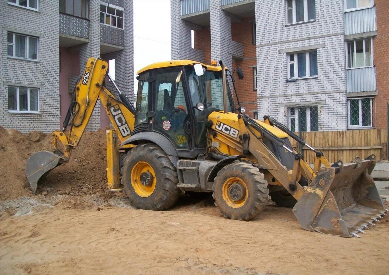 Планировка грунта, копка, рытье JCB 3 CX, гидромолот - Астрахань, цены, предложения специалистов