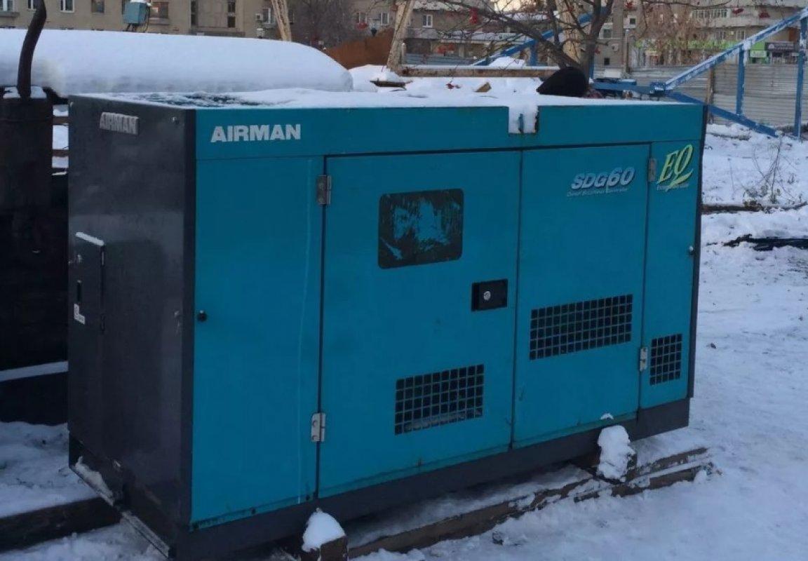 Электростанция AIRMAN SDG60 заказать или взять в аренду, цены, предложения компаний