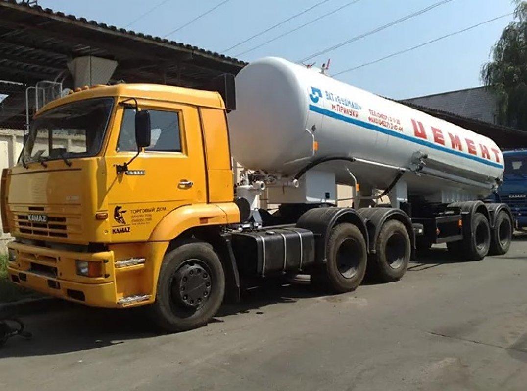 Цементовоз НПЦ-22 на базе Камаз заказать или взять в аренду, цены, предложения компаний