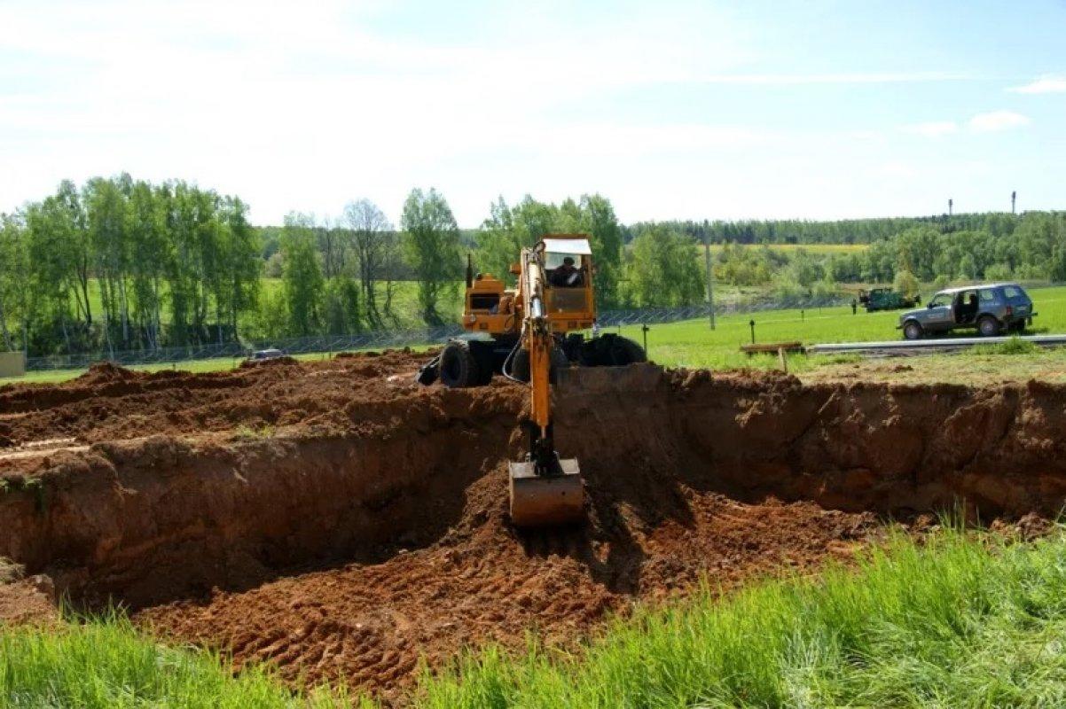 Земляные работы, копка, рытье траншей. Услуги спецтехники - Астрахань, цены, предложения специалистов
